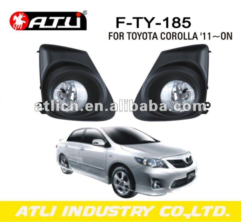 fog lamp for toyota corolla '11-on halogen