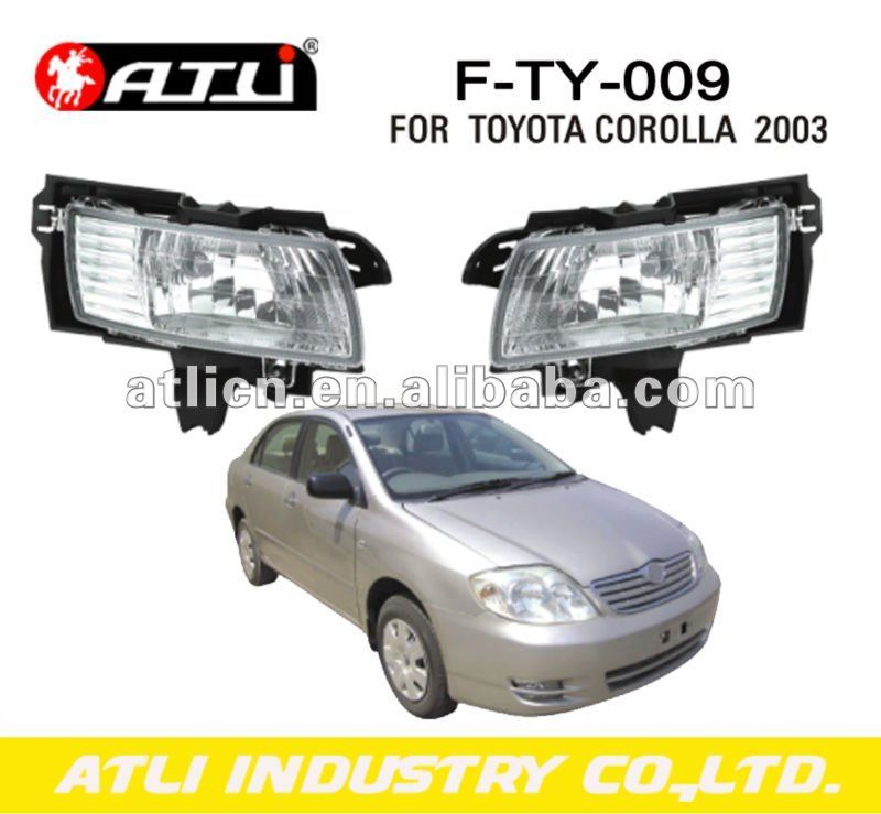 fog lamp for toyota corolla 2003