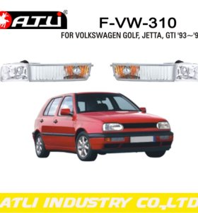 Replacement LED fog lamp for VOLKSWAGEN GOLF JETTA GTI '93~'98