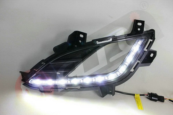 Hot sale super power car led drl daylight running lamp