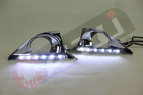Multifunctional fashion drl led lamp