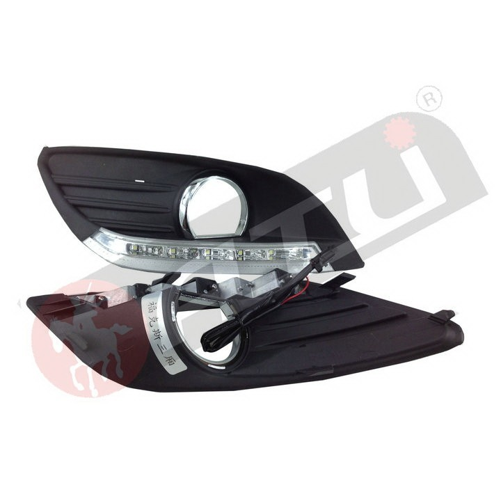 Adjustable fashion 8 led drl turn signal light