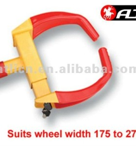 Practical and good quality steel Wheel clamp/tire lock for car and motorcycle TL-2108