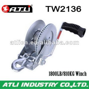 High quality hot-sale hand pulling winch TW2136,hand winch