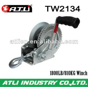 High quality hot-sale car winch TW2134,hand winch