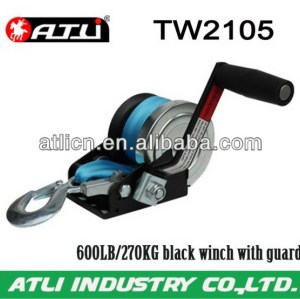 High quality hot-sale trailer winch TW2105,hand winch