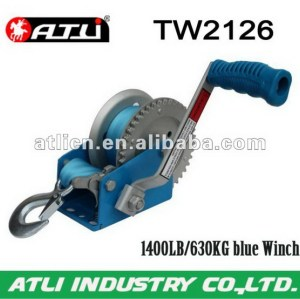 High quality hot-sale trailer winch TW2126,hand winch