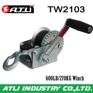 High quality hot-sale trailer winch TW2103,hand winch