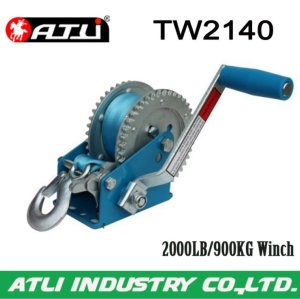 High quality hot-sale 2000LB/900KG Trailer Winch TW2140,hand winch