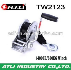 High quality hot-sale trailer winch TW2123,hand winch