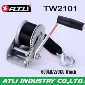 High quality hot-sale trailer winch TW2101,hand winch