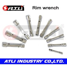 Practical and good quality car repairing wrench rim wrench,wrench set