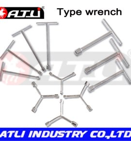 Practical and good quality car repairing wrench,type wrench
