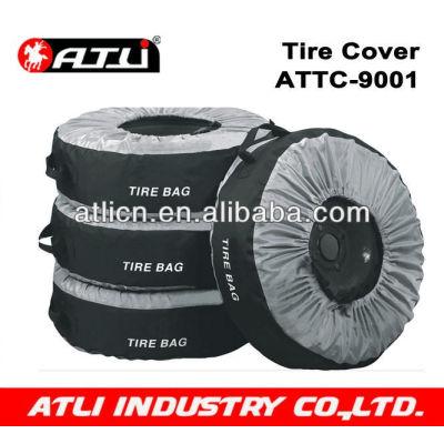High quality stylish Spare Tire Cover For Car 4PCS/SET 600D Nylon ATTC-9001,snow sock