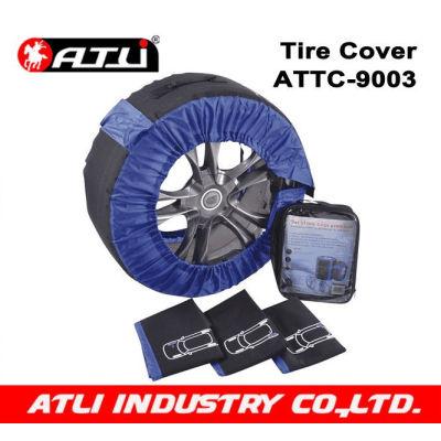 High quality stylish Spare Tire Cover For Car 4PCS/SET 600D Nylon ATTC-9003,snow sock