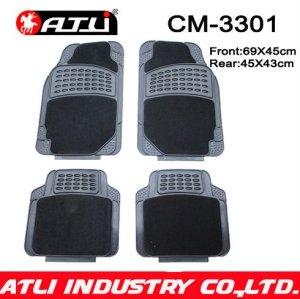 Universal Type Easy Wash Carpet rubber composite car mat CM-3301,