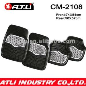 Universal Type Easy Wash rubber car mat CM-2108,personalized rubber car mats