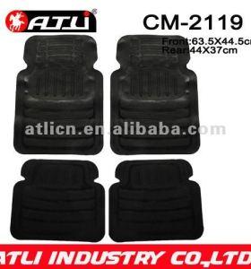 Universal Type Easy Wash rubber car mat CM-2119,unique car mats