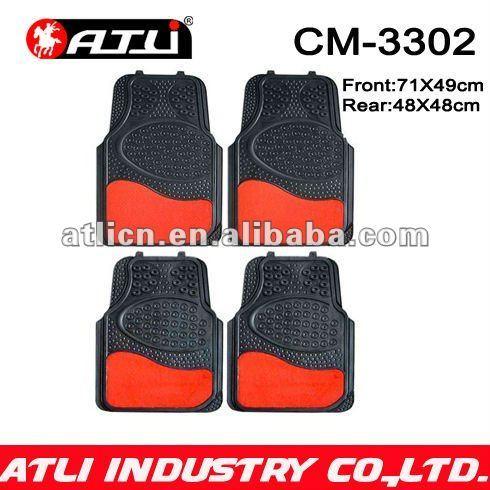 Carpet rubber composite car mat