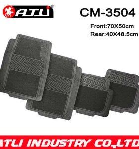 High quality hot-sale Carpet rubber composite car mat CM-3504