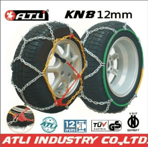 KN12mm / KNS9mm Anti Skid Snow Chains for car,TUV/GS V5117 certificate