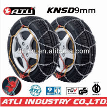 Snow chains KNS9mm for Passenger car, anti-skid chain,tire chain TUV/GS, V5117 certificate