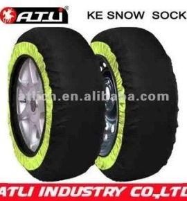 New design, good sale KE auto snow socks, tire cover,wheel cover