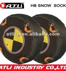 New design high quality HB auto snow sock, tire cover,wheel cover