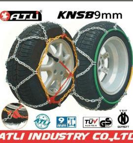 high quality best sale KNSB 9mm Snow chains for Passenger car,tire chain