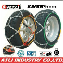 high quality best sale KNSB 9mm Snow chains for Passenger car,tire chain