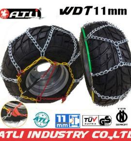 Quick mounting 4X4 /SUV chain---WDT11mm Diamond Type snow chain anti-skid
