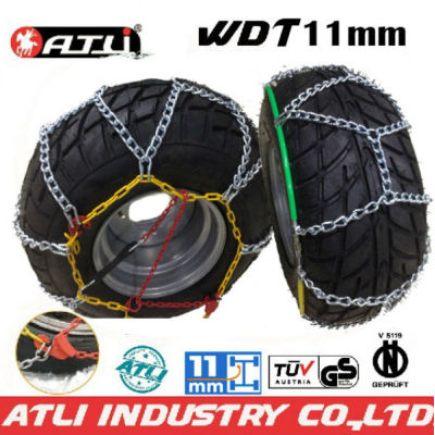 Quick mounting 4X4 /SUV chain---WDT11mm Diamond Type snow chain anti-skid