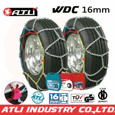 high quality Quick mounting 4X4 /SUV chain Diamond Type snow chain anti-skid