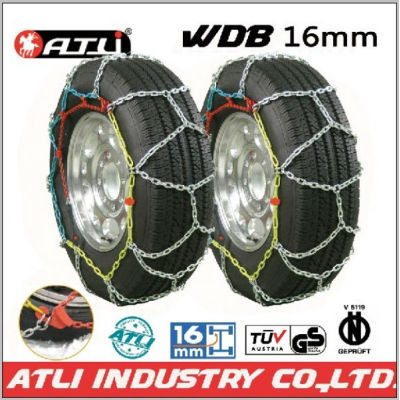 low price Quick mounting 4X4 /SUV chain Diamond Type snow chain anti-skid