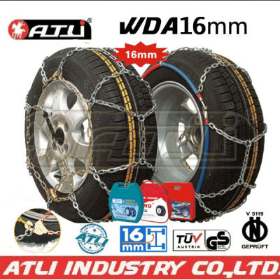 low price Quick mounting 4X4 /SUV chain Diamond Type snow chain anti-skid tire chain