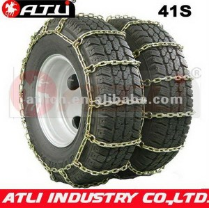 Universal zinc plating bus tire chain truck chain 41S Square Link Dual/Triple