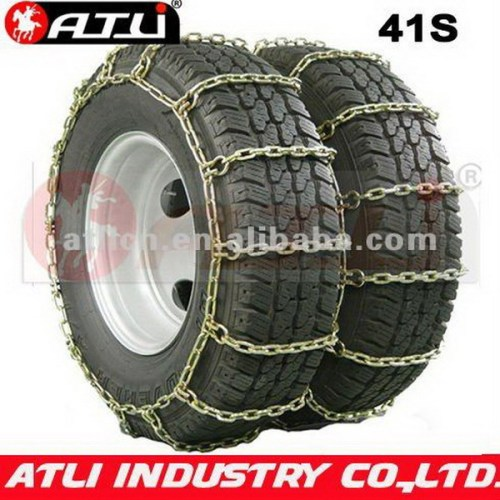 Universal zinc plating bus tire chain truck chain 41S Square Link Dual/Triple