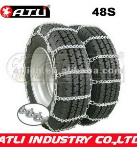 twist link wide base car snow chains truck chain tire chain for truck v-bar anti-skid