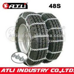 twist link wide base car snow chains truck chain tire chain for truck v-bar anti-skid