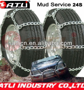 24'S Cable chain Twist Link single mud service, snow chains,anti skid chains, tire chains
