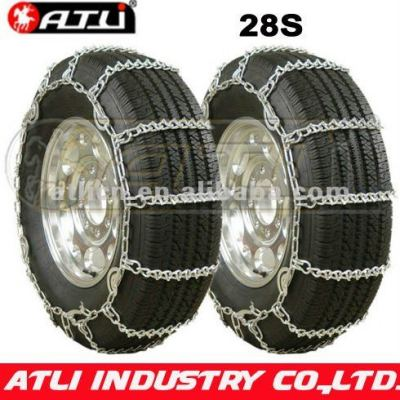 28'S Cable chainTwist Link Dual V-Bar,anti skid chain, tire chain