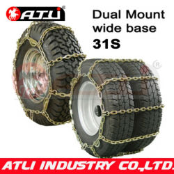 31S Square Link Wide Base/Dual Mount low price practical car anti skid chains