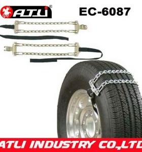 best single antiskid plastic table top chain EC6087 snow chain emergency chain