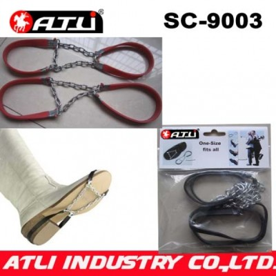 good quality low price SC-9003 anti-skip shoe chain rubber shoes chains