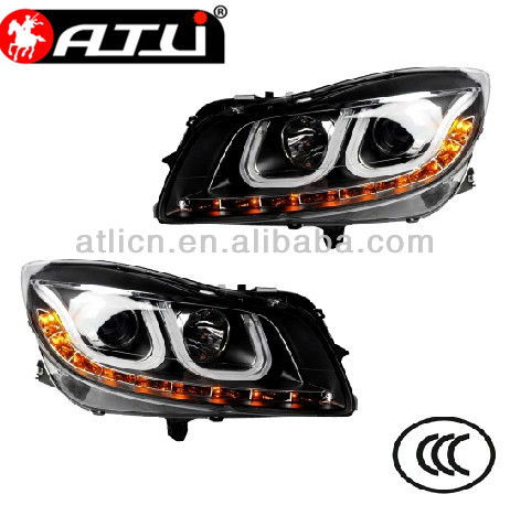 Modified auto LED angle eyes head lamp for Buick Excelle GT