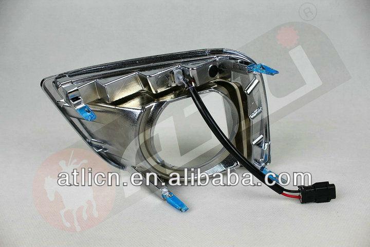 safety and pretty LED DRLS Toyota Prado