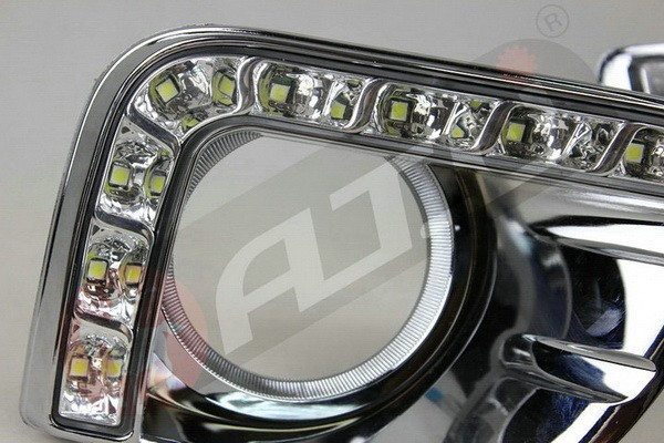 Universal new style drl for Toyota Prado