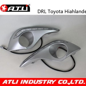 Hot selling low price led drl for toyota highlander