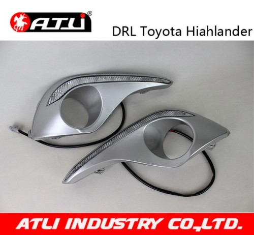 Practical high performance high power led drl for highlander 2013