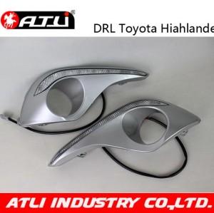Multifunctional newest led drl light for toyota highlander